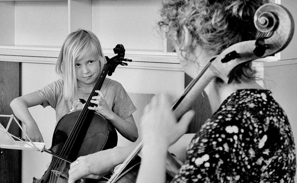 Celloles bij Mirjam Daalmans, celliste en docente